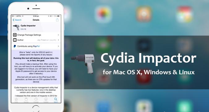 Hướng dẫn cách cài ứng dụng từ bên ngoài vào iPhone bằng Cydia Impactor