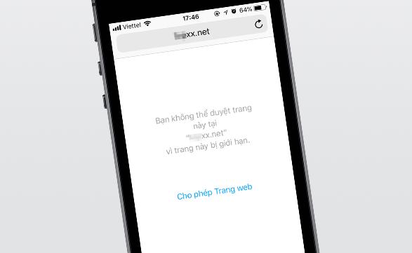 Cách chặn trang web đen trên Google Chrome điện thoại