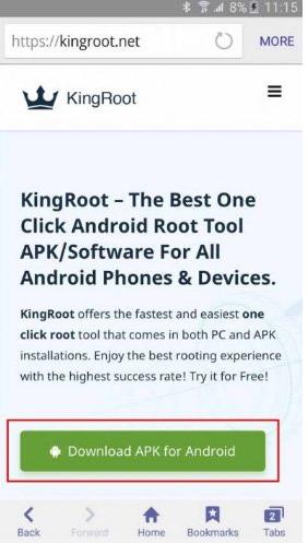 phần mềm KingoRoot