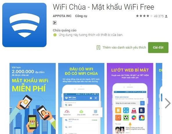 phần mềm bẻ khóa mật khẩu Wifi cho Android và iOS