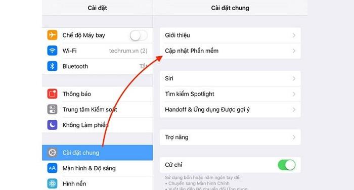 Cập nhật hệ điều hành cho điện thoại iPhone của bạn